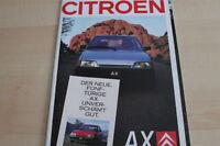 123296) Citroen AX Prospekt 02/1988