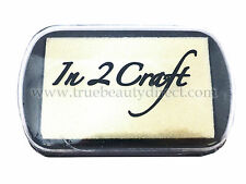 IN 2 CRAFT CLEAR PIGMENT INK PAD RAISED FOR POWDER EMBOSSING STAMP NEW C IN SHOP