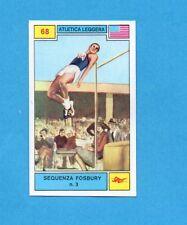 CAMPIONI SPORT 1969-70-PANINI-Figurina n.68- SEQUENZA FOSBURY 3 -ATLETICA L.-Rec