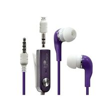 Écouteurs Stéréo Filaires Violet pour Apple : iPad / iPhone 3G / iPhone 3GS /