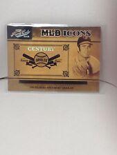 2005 Playoff Prime Cuts MLB Icons #MLB-21 Jim Palmer Century Orioles SSP #17/25