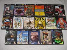 Diverse Nintendo GameCube-juegos ~ todos completo con instrucciones + funda original