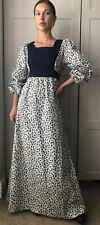 Vintage Boho Prairie Maxi Dress Ashley Ditsy Floral Handmade Laura