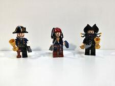 Lego Minifiguras Piratas del Caribe 4195 Barba Negra - Barbosa - Jack Sparrow