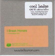 (EM101) I Break Horses, Wired - 2011 DJ CD