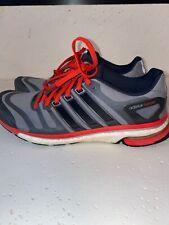 Adidas Adistar Boost ESM Size 9.5 - Dark Grey Light Grey Red - ART G97675