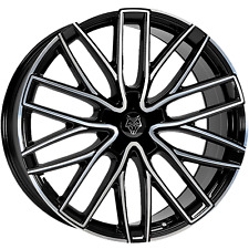 "20"" WOLFRACE-GTP ALLOY WHEELS FITS VIVARO DUCATO TRAFIC RELAY 1050KG LOAD RATED"