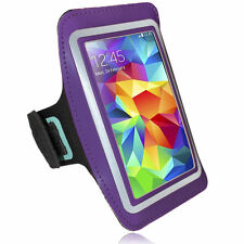 Sports Running Jogging Armband Waterproof Cover for Samsung S3, S4 Purple