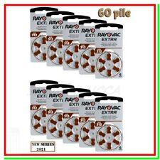 batterie per apparecchi acustici 312 rayovac extra 60 pile per protesi