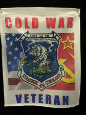 B-52 Stratofortress Gunner Cold War Veteran Garden Flag