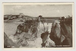 Cornwall Postkarte - Die Insel, Newquay - P/U 1953 (A1781)