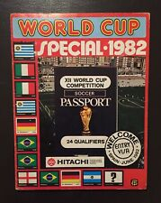 FKS World Cup Special 1982 82 Complete VGC