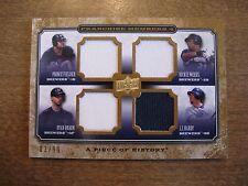 2008 Piece of History Fielder/Braun/Weeks/Hardy Franchise Members 4 Jersey #/99