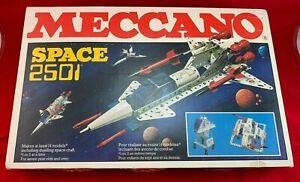 Vintage Meccano/Erector Space 2501/ Construction Set- Exceptional condition!