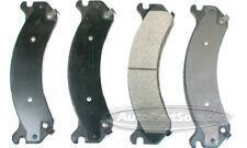 Disc Brake Pad Set-Semi-Metallic Pads Rear Tru Star PPM909