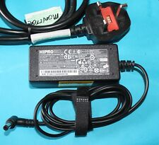 100%GENUINE Acer HIPRO HP-A0301R3  19V,1.58A Compatible Laptop AC Adapter & Lead