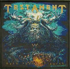 "TESTAMENT PATCH / AUFNÄHER # 8 ""DARK ROOTS OF EARTH"""