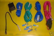 Universal  Fog Spot  Lamp Spotlight   Wiring  Kit  Inc Diagram Car Wire Driving