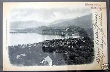 Switzerland~Schweiz~ 1899 Gruss aus RICHTERSWEIL ~Litho