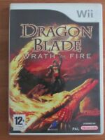 JEU NINTENDO WII & WII U @@ DRAGON BLADE WRATH OF FIRE