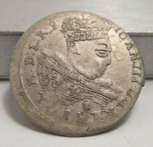 1685 B - Poland - Silver 3 Groschen - Johan III Sobieski