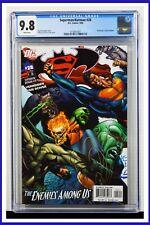 Superman Batman #28 CGC Graded 9.8 DC September 2006 White Pages Comic Book