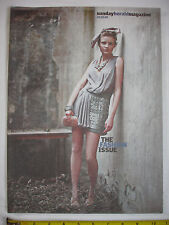 Sunday Herald Mag-30th March 2008.Fashion.Christopher Kane. Gucci. Agnes Owens
