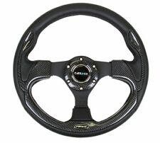 NRG 320mm Sport Steering Wheel w/ Black Trim - RST-001CBL