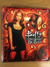 Buffy The Vampire Slayer Big Bads Official INKWORKS Binder