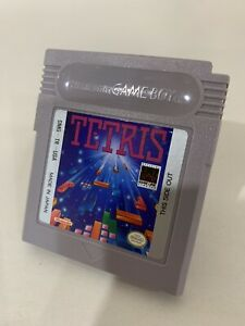 Tetris Nintendo Original DMG Game Boy Game - Tested Cleaned Working - Authentic!