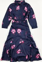 Joules Carla Dress Women's Navy Floral Long Sleeve 209592