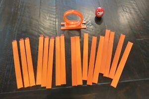 Lot - from Worlds Smallest Hot Wheels Loop, Track, Joiners,