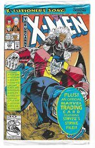 UNCANNY X-MEN #295 --- SEALED W/CARD! 1ST PRINT! HI-GRADE! Marvel! 1992! NM