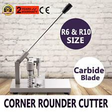 Machine de Découpe pour Angle Arrondi Coupeur de Papier Arrondisseur D'angles