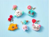 NEXON SPOONZ Official Face Plush Doll Key Ring Chain NU'EST Authentic Goods