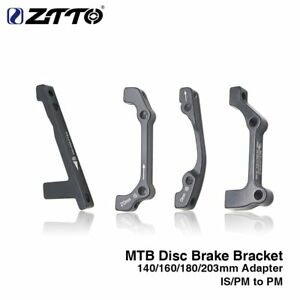 MTB Bike Disc Brake Caliper Adapter Bracket IS/PM AB For 140 160 180 203MM Rotor
