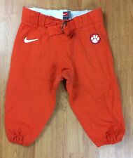 Clemson Tigers Authentic Player-Issued Football Game Pants Size 32