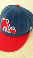 Rare Quebec Nordiques New Era hat cap, adjustable, one size, vintage NHL team