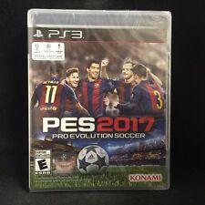 Pro Evolution Soccer 2017 (Sony PlayStation 3, 2016) BRAND NEW / Region Free