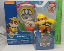 Rubble Paw Patrol Figure New In Pack 2016 Nickelodeon Spin Master