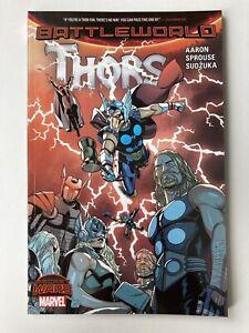 Battleworld: Thors - Marvel Secret Wars Graphic Novel Trade Paperback - NEW!