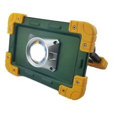 30 Watt Rechargeable 2000 Lumen LED COB Work Light Flood Shop Battery Power Bank