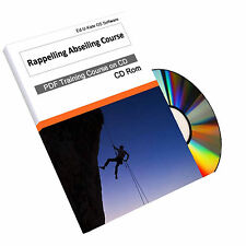 144 Abseiling Rappelling Rope Access Climbing Training Course How To Guide Book