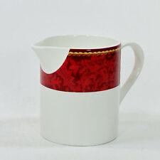 Hallmark HOLIDAY ABUNDANCE 10oz Creamer Christmas Sakura Red Gold Cord