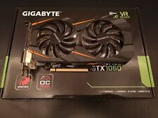 GIGABYTE NVIDIA GeForce GTX 1060 3GB GDDR5 Windforce OC Edition Graphics Card