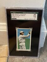 1909 T206 Sweet Caporal John McGraw - Finger In Air - SGC 20 1.5 Fair Graded