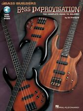 Bass Improvisation Sheet Music The Complete Guide to Soloing Bass NEW 000695164