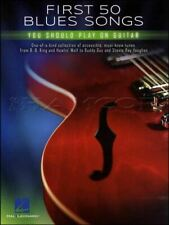 First 50 Blues Songs You Should Play On Guitar TAB Book SAME DAY DISPATCH