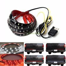"""60"""" 6-Function Tailgate Red White LED Strip Reverse Brake Signal Light 12V 24V"""