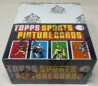 1984 TOPPS MLB Baseball RACK BOX Unopened Sealed Trading Card 24 PACKS BBCE FASC